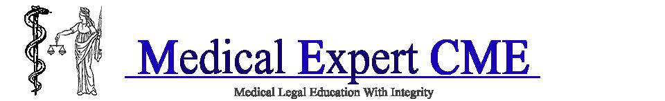 Medical Expert CME